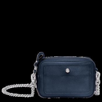 Longchamp Le Foulonné Borsa a tracolla piccola navy blue