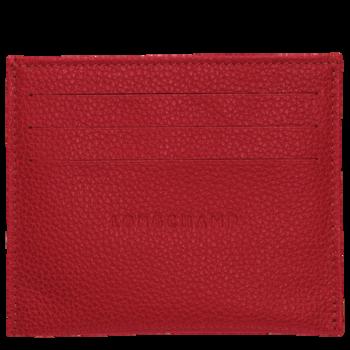 Longchamp Porta carte Rouge